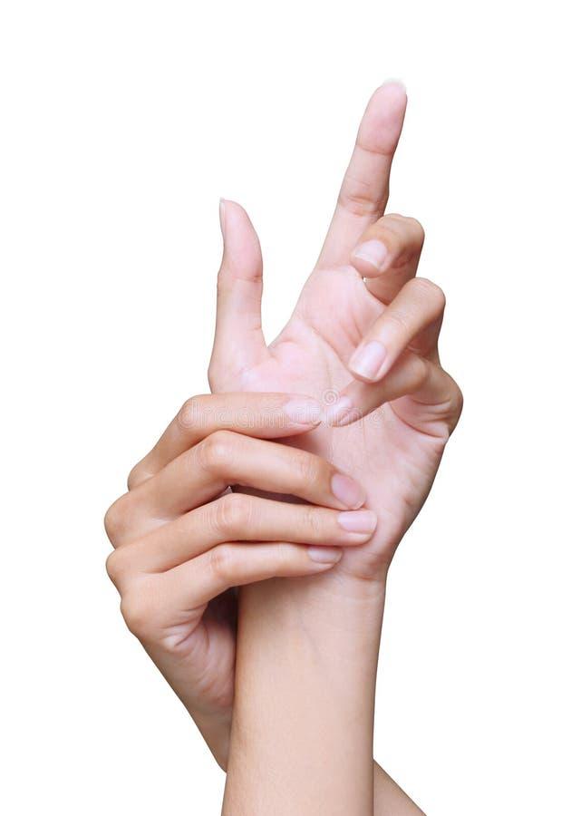 χέρι ομορφιάς στοκ εικόνες με δικαίωμα ελεύθερης χρήσης