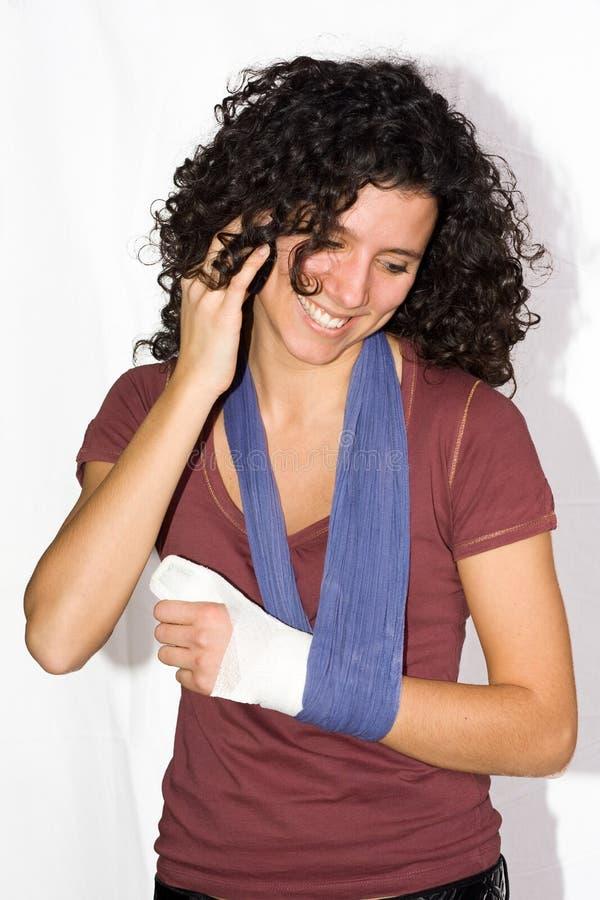 χέρι που τραυματίζεται στοκ φωτογραφία με δικαίωμα ελεύθερης χρήσης