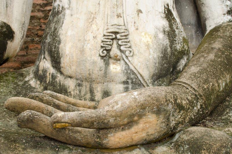 Χέρι της εικόνας βουδισμού στοκ φωτογραφία