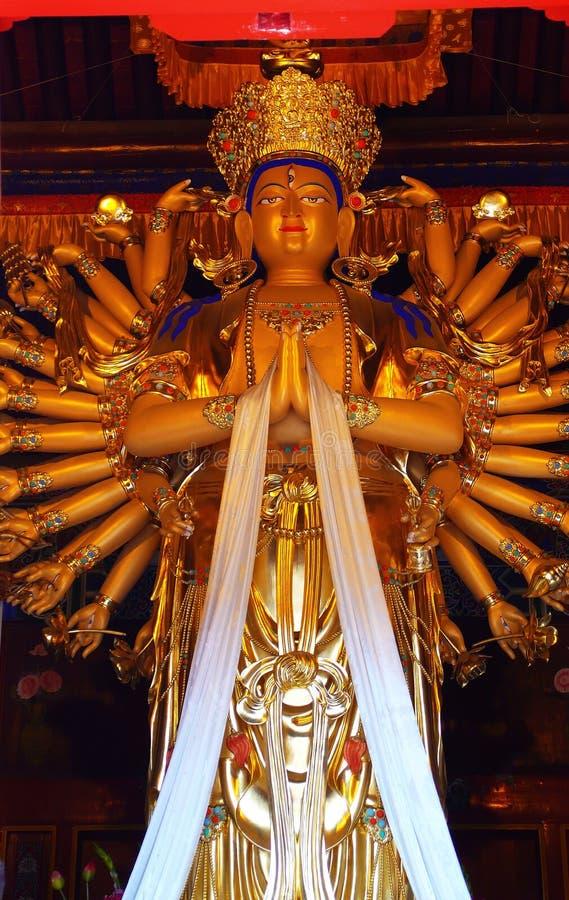 χέρι χίλια του Βούδα στοκ φωτογραφίες