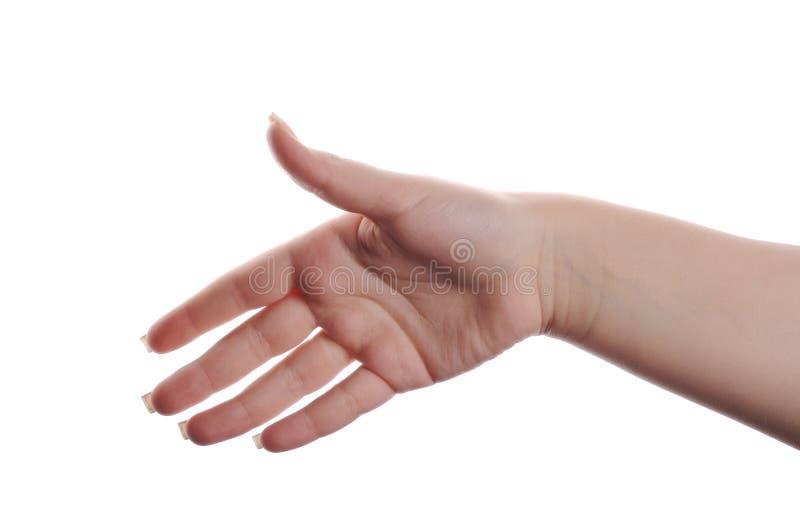 χέρι χειρονομίας στοκ εικόνες με δικαίωμα ελεύθερης χρήσης