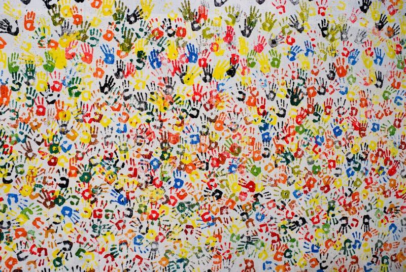 χέρι 2 τέχνης στοκ φωτογραφίες