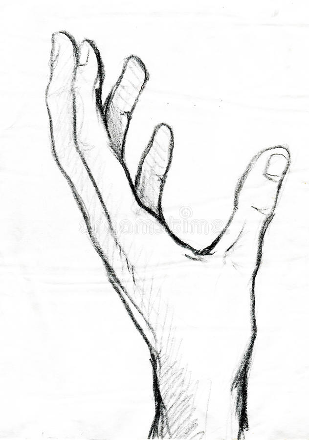 Χέρι διανυσματική απεικόνιση