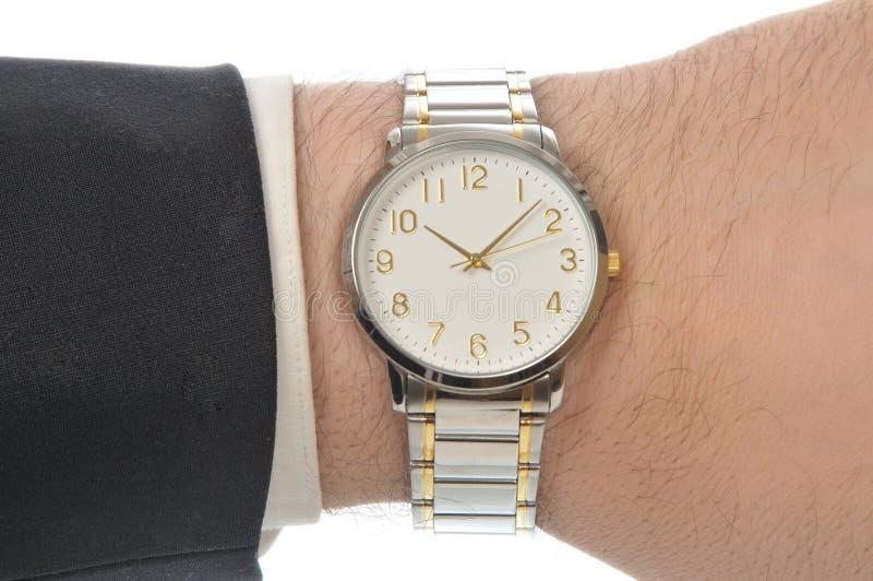 Download χέρι wristwatch στοκ εικόνες. εικόνα από χρόνος, δάχτυλο - 13176674