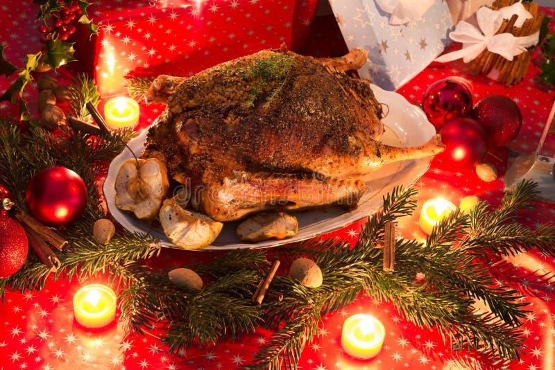 Χήνα Χριστουγέννων στοκ φωτογραφίες