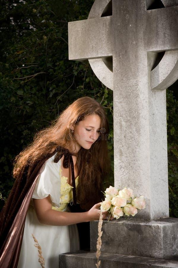 χήρα λουλουδιών στοκ εικόνα με δικαίωμα ελεύθερης χρήσης