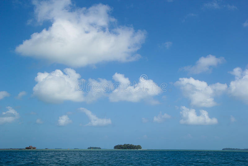 Χίλιο νησί Ινδονησία στοκ φωτογραφίες με δικαίωμα ελεύθερης χρήσης