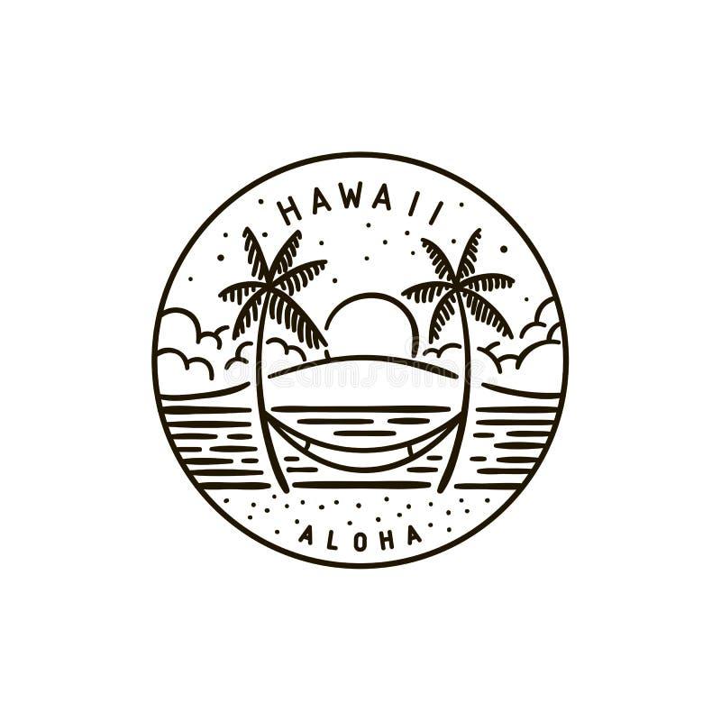 Χαβάη ΗΛΙΟΒΑΣΙΛΕΜΑ ΤΡΟΠΙΚΟ ελεύθερη απεικόνιση δικαιώματος