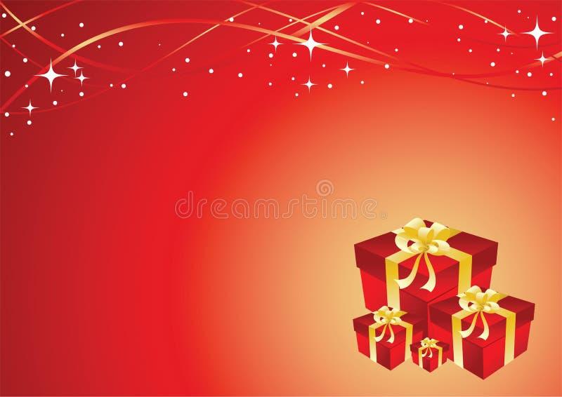 χαιρετισμός δώρων καρτών κ&iot διανυσματική απεικόνιση