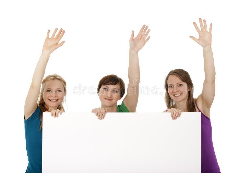 χαιρετισμός εμβλημάτων π&omicron στοκ φωτογραφία με δικαίωμα ελεύθερης χρήσης