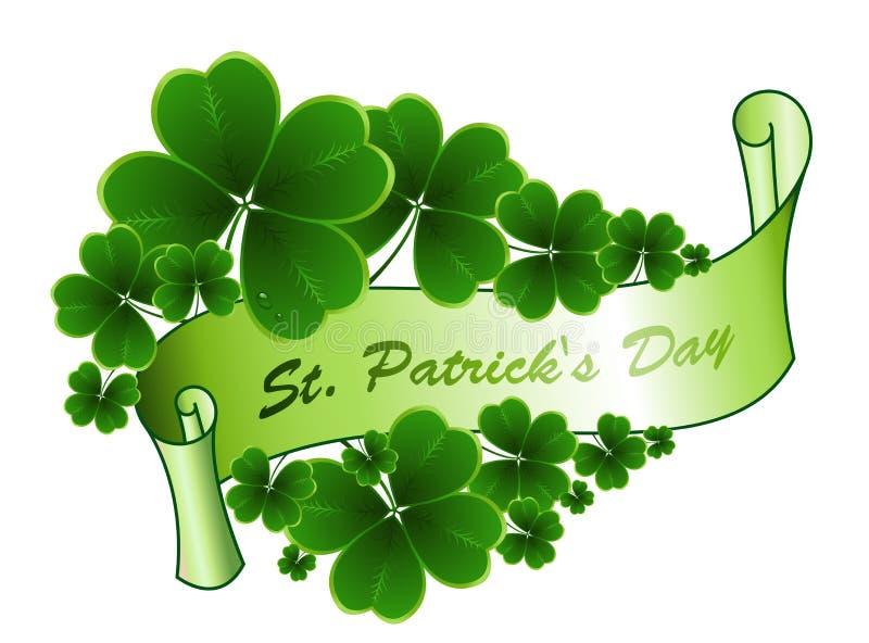 Χαιρετισμός ημέρας του ST Patricks ελεύθερη απεικόνιση δικαιώματος
