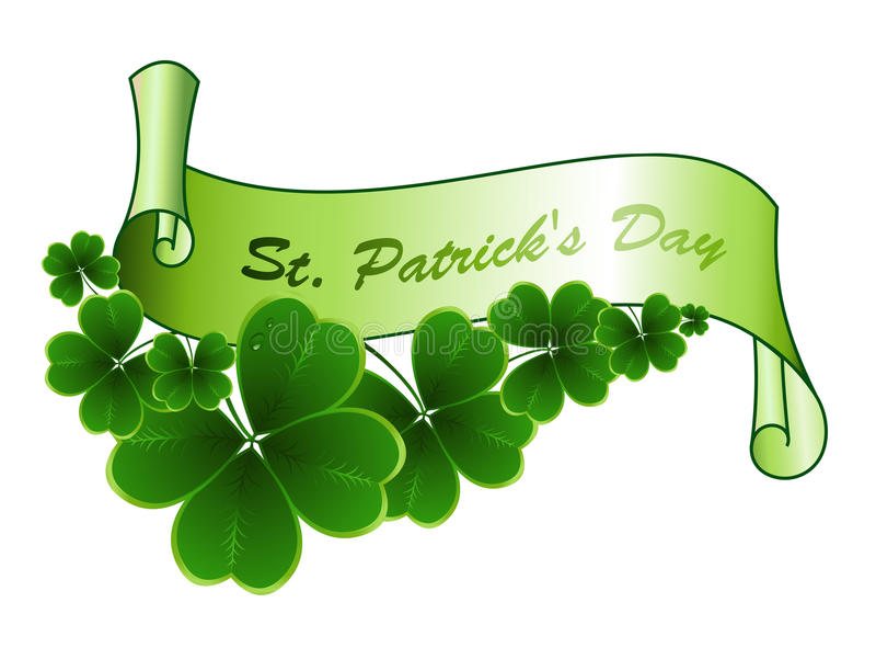Χαιρετισμός ημέρας του ST Patricks διανυσματική απεικόνιση