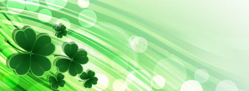 Χαιρετισμός ημέρας του ST Patricks απεικόνιση αποθεμάτων