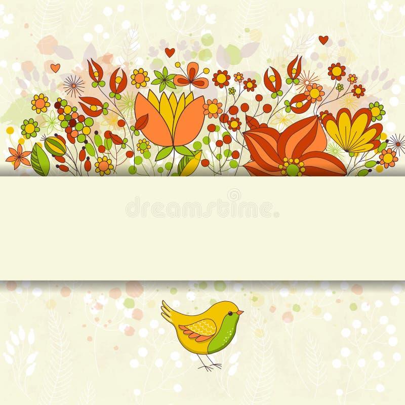 χαιρετισμός καρτών γενεθλίων ευτυχής διανυσματική απεικόνιση