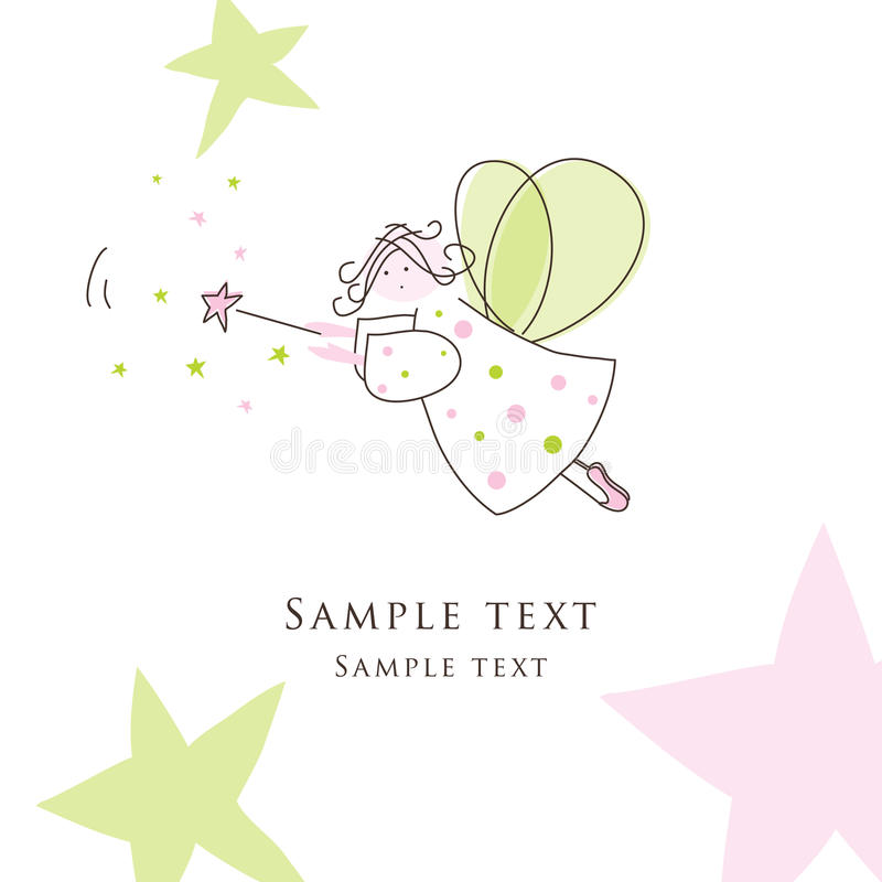 χαιρετισμός καρτών διανυσματική απεικόνιση