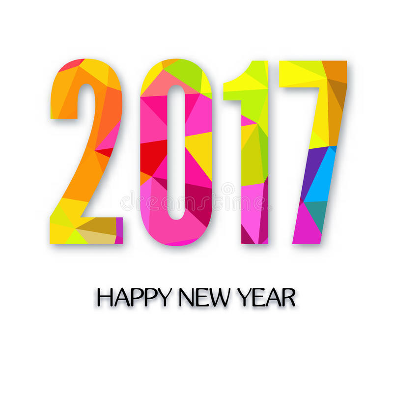 χαιρετισμός καλή χρονιά καρτών του 2007 ελεύθερη απεικόνιση δικαιώματος