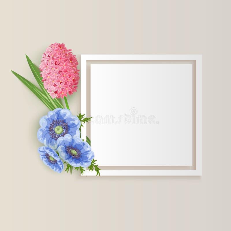 χαιρετισμός λουλουδιώ στοκ φωτογραφία με δικαίωμα ελεύθερης χρήσης