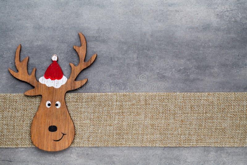 χαιρετισμός Χριστουγέννων καρτών Υπόβαθρο στοιχειών Noel Σύμβολο Χριστουγέννων στοκ εικόνα