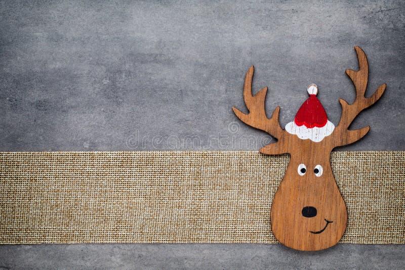 χαιρετισμός Χριστουγέννων καρτών Υπόβαθρο στοιχειών Noel Σύμβολο Χριστουγέννων στοκ φωτογραφία με δικαίωμα ελεύθερης χρήσης