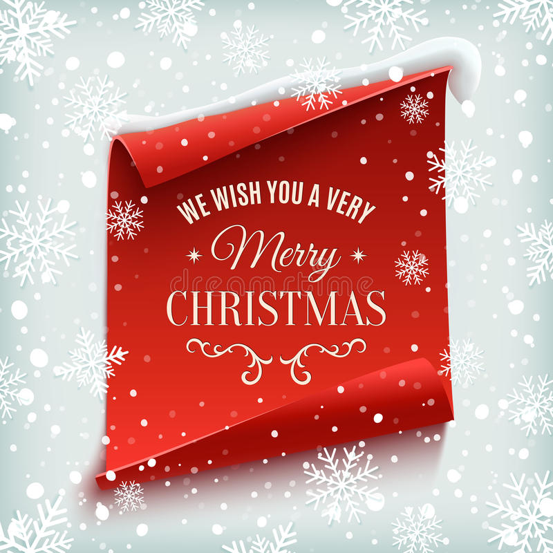 χαιρετισμός Χριστουγένν&ome απεικόνιση αποθεμάτων