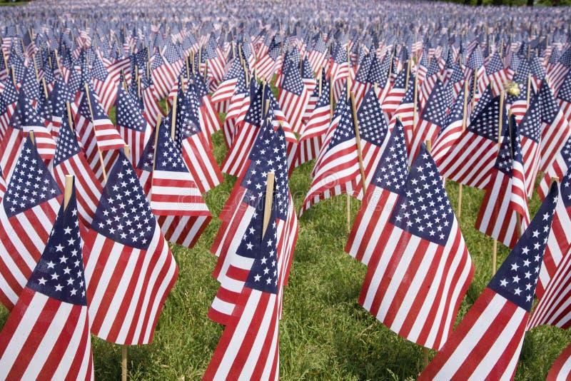 χαιρετισμός 20000 σημαιών στοκ εικόνα με δικαίωμα ελεύθερης χρήσης
