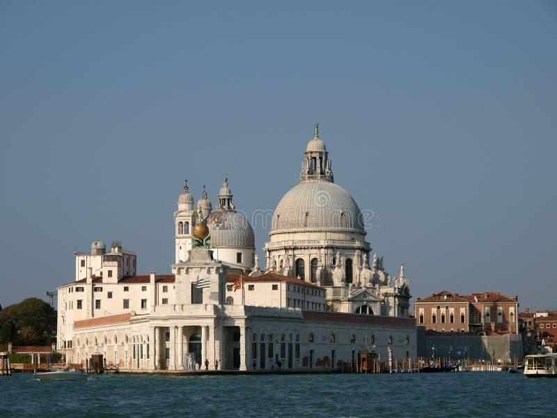 Χαιρετισμός Di Παναγία Della βασιλικών - Βενετία, Ita στοκ εικόνες