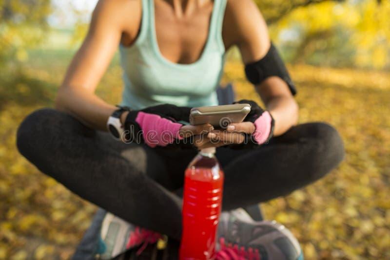 χαλάρωση άσκησης στοκ εικόνες