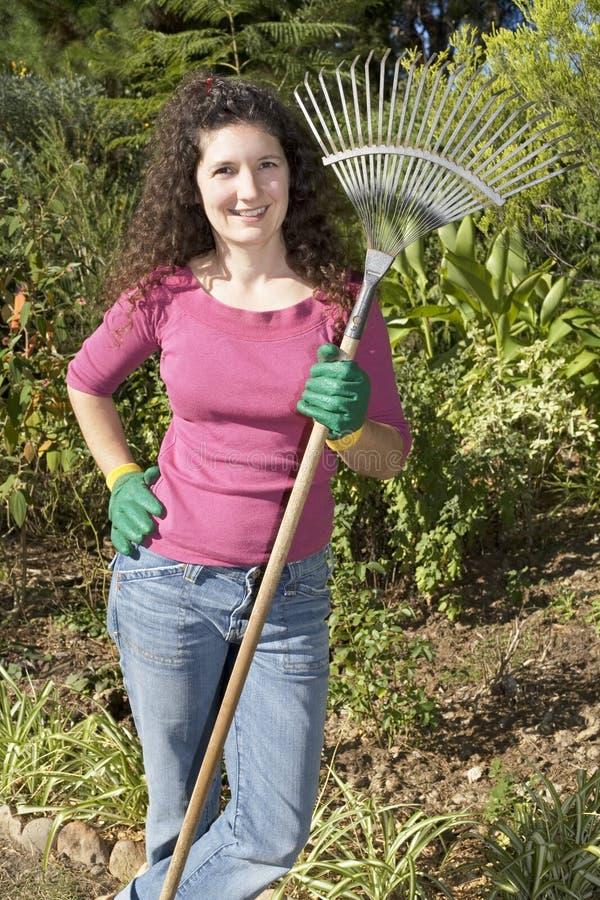 χαλάρωση κηπουρών στοκ φωτογραφία με δικαίωμα ελεύθερης χρήσης