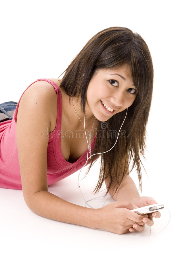 χαλάρωση μουσικής 3 στοκ εικόνα