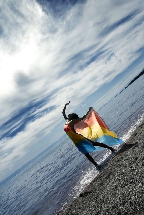 χαλάρωση χορού στοκ εικόνες
