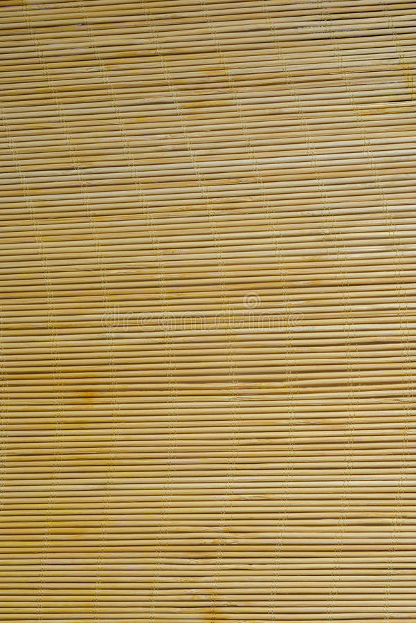 Χαλί μπαμπού στοκ εικόνα με δικαίωμα ελεύθερης χρήσης