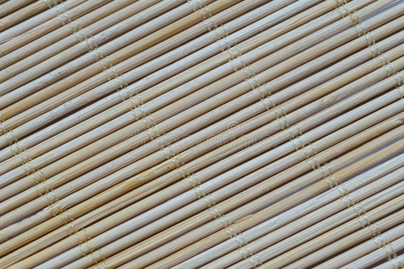 Χαλί μπαμπού στοκ φωτογραφίες με δικαίωμα ελεύθερης χρήσης