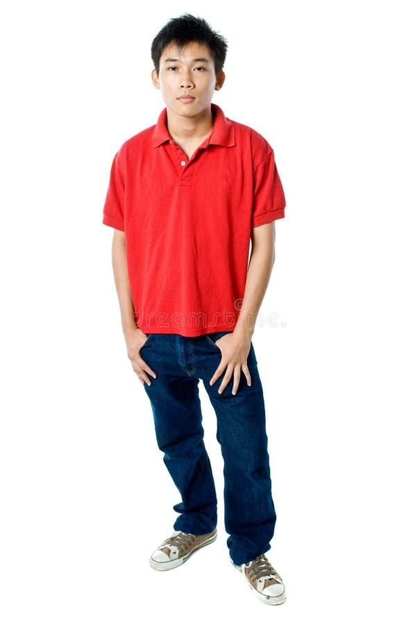 Χαλαρωμένος έφηβος στοκ φωτογραφία με δικαίωμα ελεύθερης χρήσης