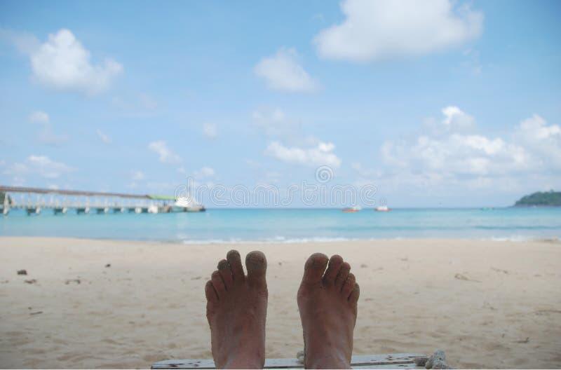 Χαλαρώστε στην παραλία Juara στοκ εικόνες με δικαίωμα ελεύθερης χρήσης