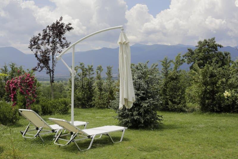 Χαλαρώστε τη ζώνη στο θέρετρο βουνών στοκ εικόνες με δικαίωμα ελεύθερης χρήσης