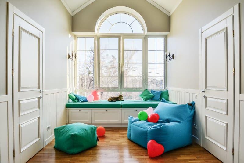 Χαλαρώστε τη ζώνη στο σπίτι privat στοκ εικόνα με δικαίωμα ελεύθερης χρήσης