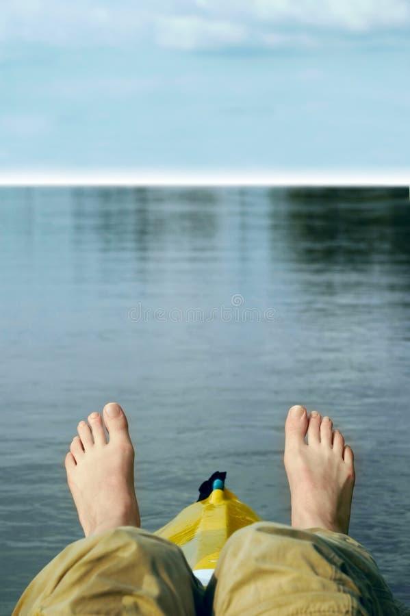χαλαρώστε το ύδωρ στοκ φωτογραφίες