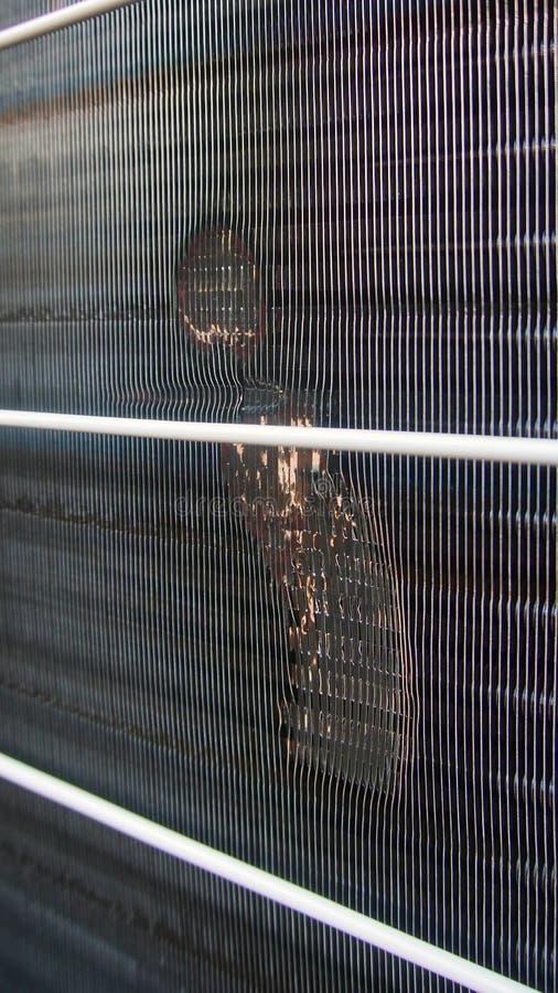 Χαλασμένος ανταλλάκτης θερμότητας στοκ φωτογραφία με δικαίωμα ελεύθερης χρήσης
