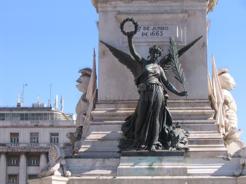 Download χαλκός Λισσαβώνα στοκ εικόνες. εικόνα από άγαλμα, ελευθερία - 380336