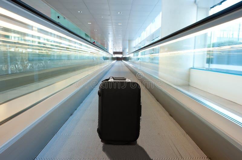 Χαμένη βαλίτσα στοκ εικόνες
