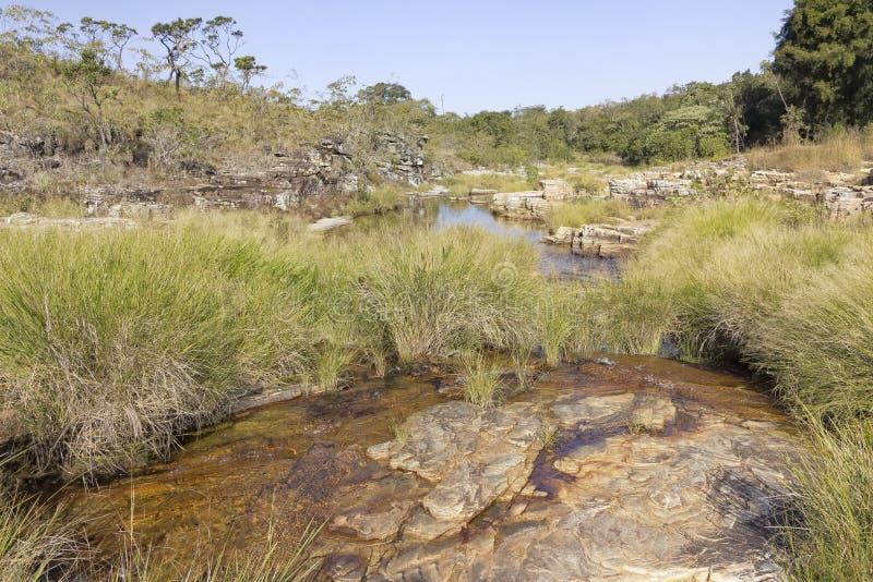 Χαμένος παράδεισος, Serra DA Canastra, Minas Gerais, Βραζιλία στοκ εικόνα