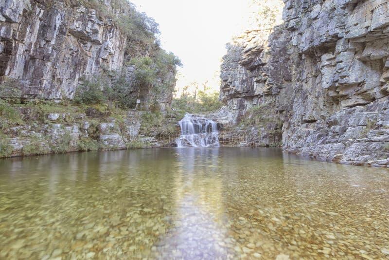 Χαμένος παράδεισος, Serra DA Canastra, Minas Gerais, Βραζιλία στοκ φωτογραφία με δικαίωμα ελεύθερης χρήσης
