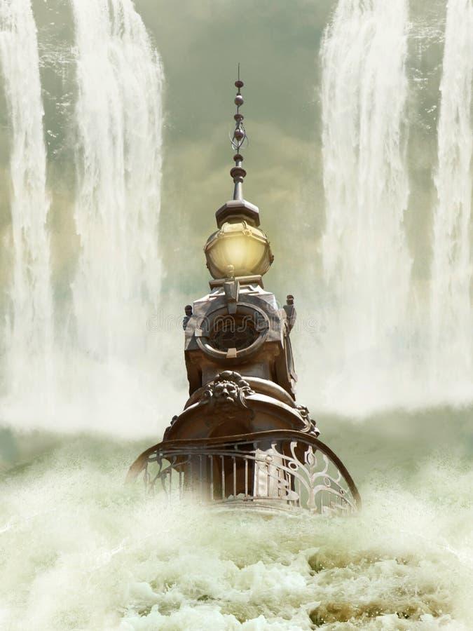 χαμένος πύργος στοκ εικόνες
