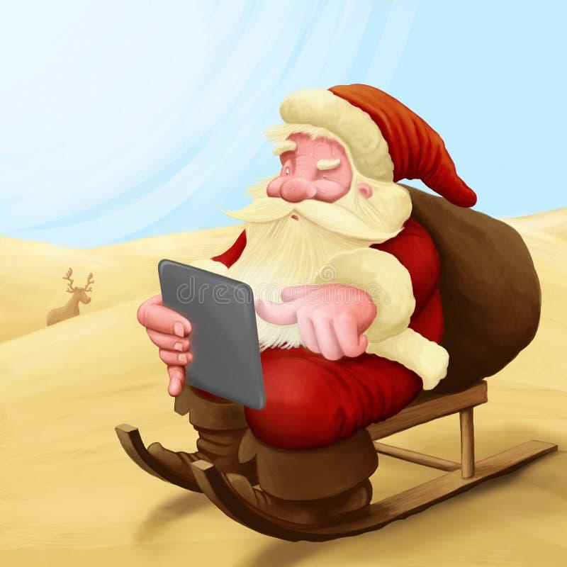χαμένο Claus santa απεικόνιση αποθεμάτων
