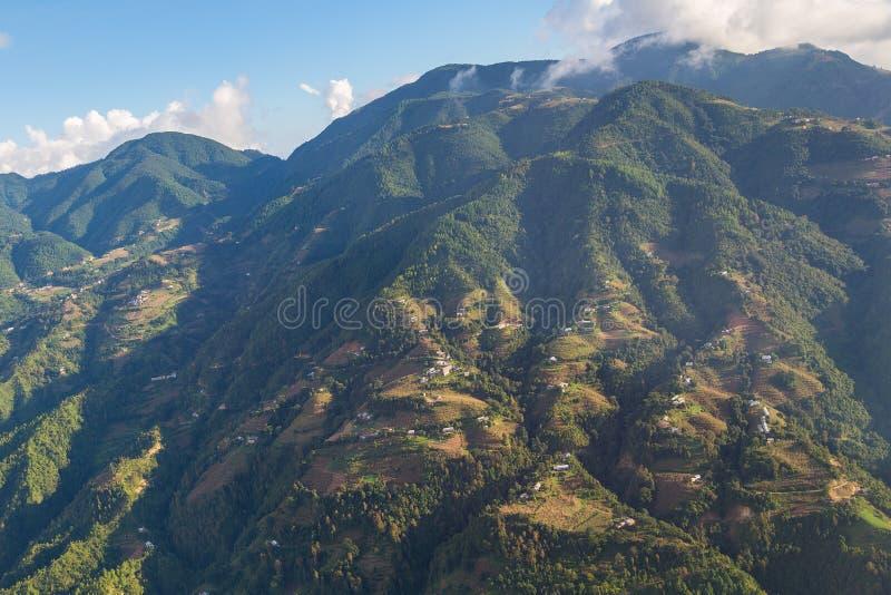 Χαμηλότερη σειρά Himalayan στοκ φωτογραφίες