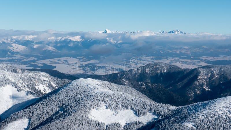 Χαμηλά βουνά Tatras, Σλοβακία στοκ φωτογραφία