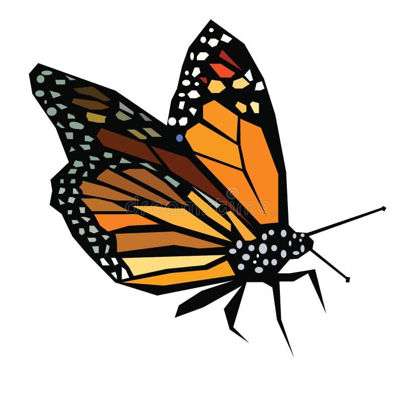 Χαμηλή πολυ πεταλούδα απεικόνιση αποθεμάτων