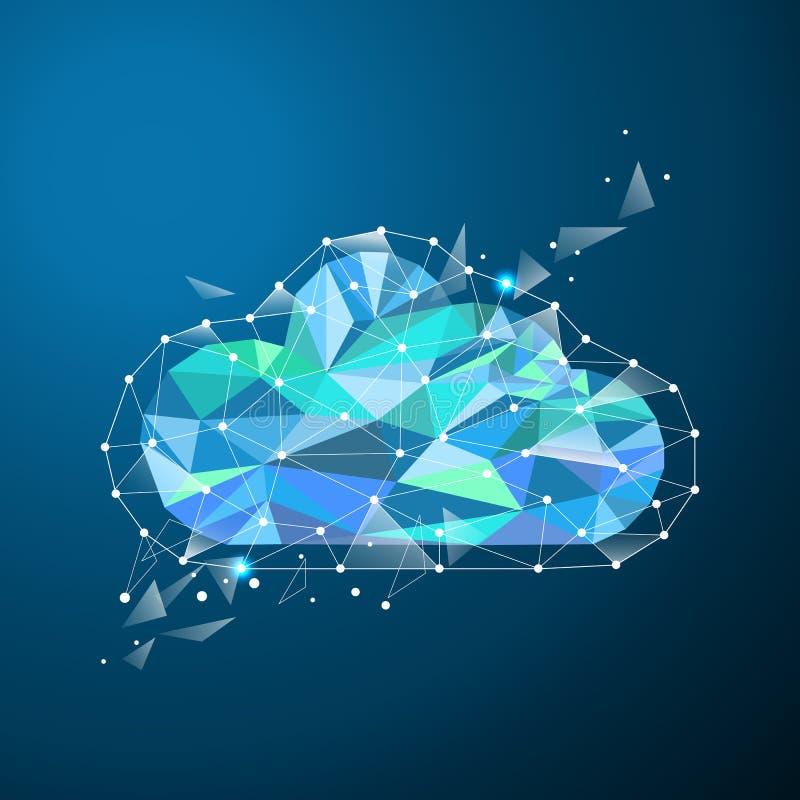Χαμηλό πολυ σύννεφο απεικόνιση αποθεμάτων