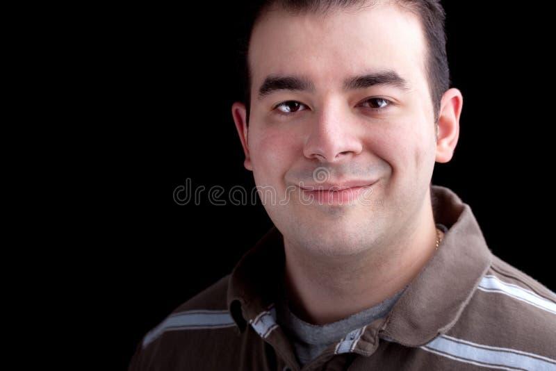 Χαμογελώντας άτομο στοκ εικόνες