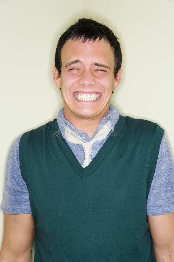 χαμογελώντας άτομο στοκ φωτογραφία με δικαίωμα ελεύθερης χρήσης